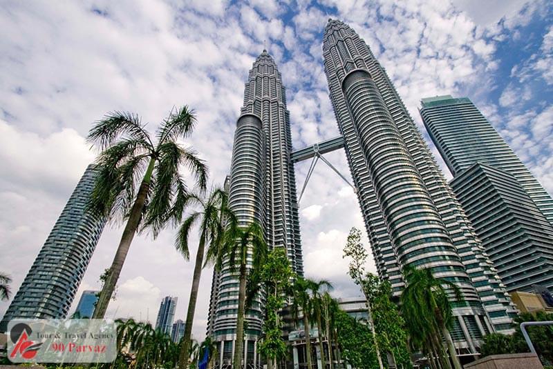 برجهای دوقلوی پتروناس مالزی کوالالامپور (1)