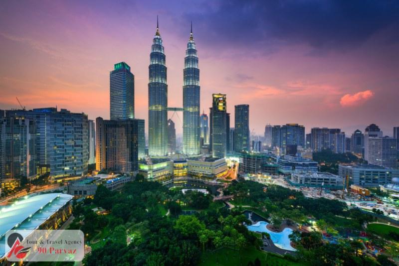 برجهای دوقلوی پتروناس مالزی کوالالامپور (2)