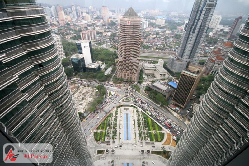 برجهای دوقلوی پتروناس مالزی کوالالامپور (5)