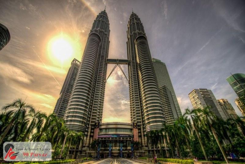برجهای دوقلوی پتروناس مالزی کوالالامپور (6)