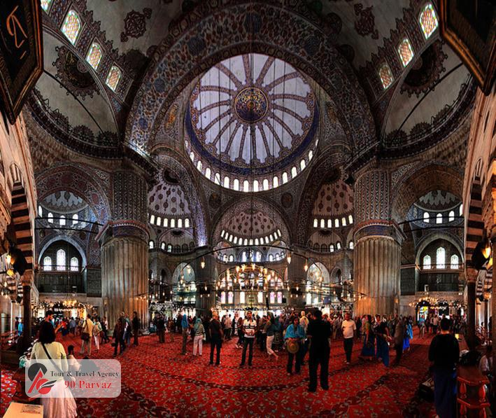 مسجد سلطان احمد استانبول (1)